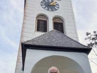 Vor der Johannesbergkapelle