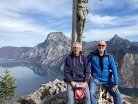 Alois und Gerald am Gipfel