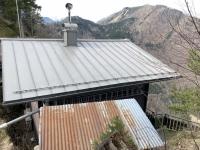 Sonnsteinhütte natürlich coronabedingt gesperrt