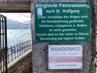 Beginn Bürglstein Panoramaweg