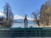 Brücke über die Ischler Ache