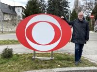 Ankunft nach 4 KM Fussmarsch beim ORF Zentrum am Küniglberg