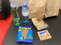 Snacks als Verpflegung
