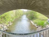 Brücke über die Vöckla unter der B1
