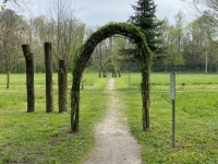 Eingang zum Keltenbaumkreis