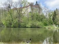 Schloss Puchheim mit Bewohner