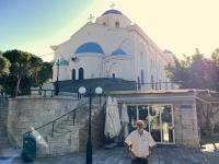 2021 05 22 Kos Stadt Erinnerung an 2006 mit Welser Runde Kirche Agios Paraskevi