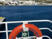 2021 05 23 Fährenfahrt Kos Patmos Rettungsring