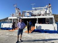 2021 05 23 Fährenfahrt Kos nach Patmos Ankunft