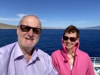 2021 05 23 Fährenfahrt Kos nach Patmos ganz schön windig