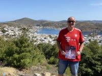 2021 05 24 Patmos Blick auf die Stadt Skala FC Bayern