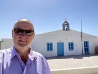 2021 05 25 Patmos Ende der Insel bei dieser Kirche