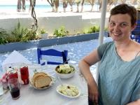 2021 05 25 Patmos Mittagessen Kampos Beach