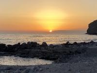 2021 05 25 Patmos Sonennuntergang Nähe unseres Hotels