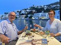 2021 05 26 Leros Fischrestaurant Mylos in Agia Marina_mit Fahrrad hingefahren