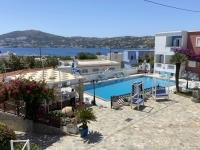 2021 05 26 Leros Hotel Saraya Resort Blick von Terrasse