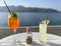 2021 05 27 Leros Agia Marina Aperitiv vor Abendessen