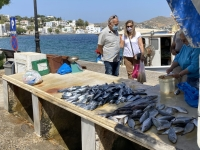 2021 05 27 Leros Agia Marina Fischhändler