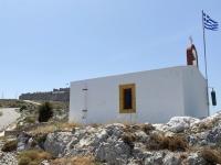 2021 05 27 Leros Kapelle unterhalb Castro Burg