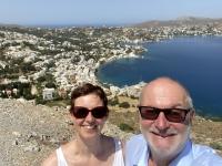 2021 05 27 Leros Wunderschöner Blick vom Castro auf Agia Marina