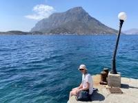 2021 05 28 Kalymnos warten auf das Schiff nach Telendos