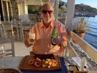 2021 05 29 Kalymnos Abendessen in Melitsachos perfekte Spareribbs vorher