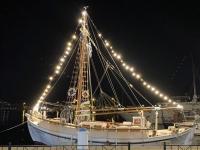 2021 05 29 Kalymnos Pothia Hafen bei Nacht