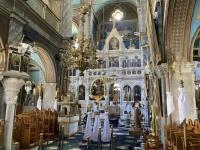 2021 05 29 Kalymnos Pothia Kirche Agios Nikolaios innen