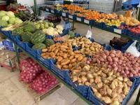 2021 05 29 Kalymnos Pothia Obst und Gemüsemarkt