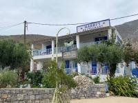 2021 05 30 Kalymnos Emborios Harrys Bar mit wunderschönen Garten