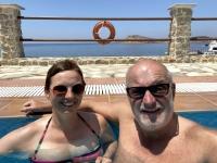 2021 05 31 Kalymnos Baden im Hotel Acelika