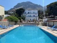 2021 05 31 Kalymnos Pool im Hotel Acelika