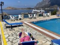 2021 05 31 Kalymnos Relaxen im Hotel Acelika
