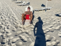 2021 05 31 Kos Relaxen am Marmari Strand hinter dem Hotel