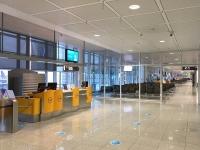 2021 06 01 München leerer Flughafen