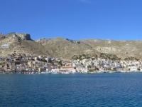 2021 05 23 Fährenfahrt Ablegen auf Kalymnos
