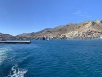 2021 05 23 Fährenfahrt Ablegen aus Kalymnos