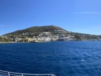 2021 05 23 Fährenfahrt Ausfahrt in Leros