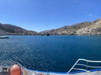 2021 05 23 Fährenfahrt Einfahrt in Kalymnos