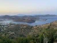 2021 05 24 Patmos Abendlicher Blick auf Skala von Chora aus