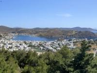 2021 05 24 Patmos  Blick auf die Stadt Skala