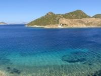 2021 05 24 Patmos Blick vom Felsen Kallikatsou