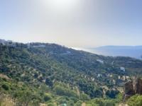 2021 05 24 Patmos Windmühlen Kloster und Stadt Skala am Meer