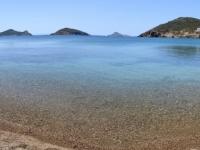 2021 05 25 Patmos Baden am Livadi Gerano Beach in doppelter Ausführung