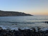 2021 05 25 Patmos Sonnenuntergang in der Nähe unseres Hotels