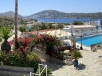 2021 05 26 Leros Hotel Saraya Resort Blick von unserer Terrasse