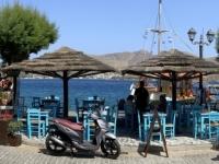 2021 05 27 Leros Agia Marina Hafen mit Fischhändler