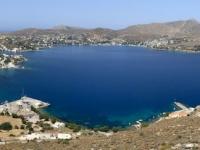 2021 05 27 Leros Blick auf Agia Marina und Alinda