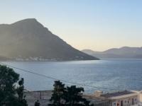 2021 05 28 Kalymnos Blick auf die Insel Telendos beim Sonnenuntergang