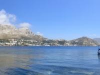 2021 05 28 Telendos Blick zurück nach Kalymnos